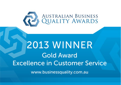 Chermside Motor Inn has been awarded Gold for Excellence in Customer Service by the Australian Business Quality Award program.